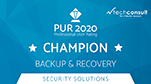 PUR Award 2020 - Champion Backup & Recovery