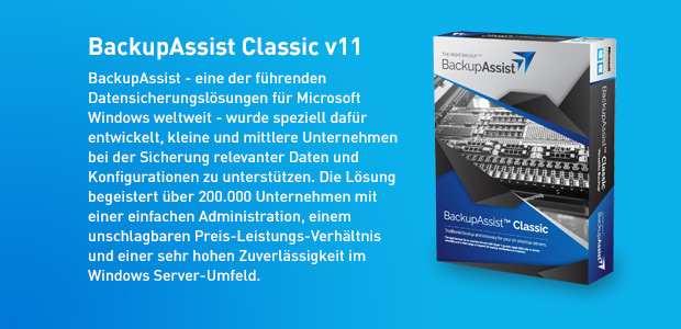 NEU: BackupAssist v11